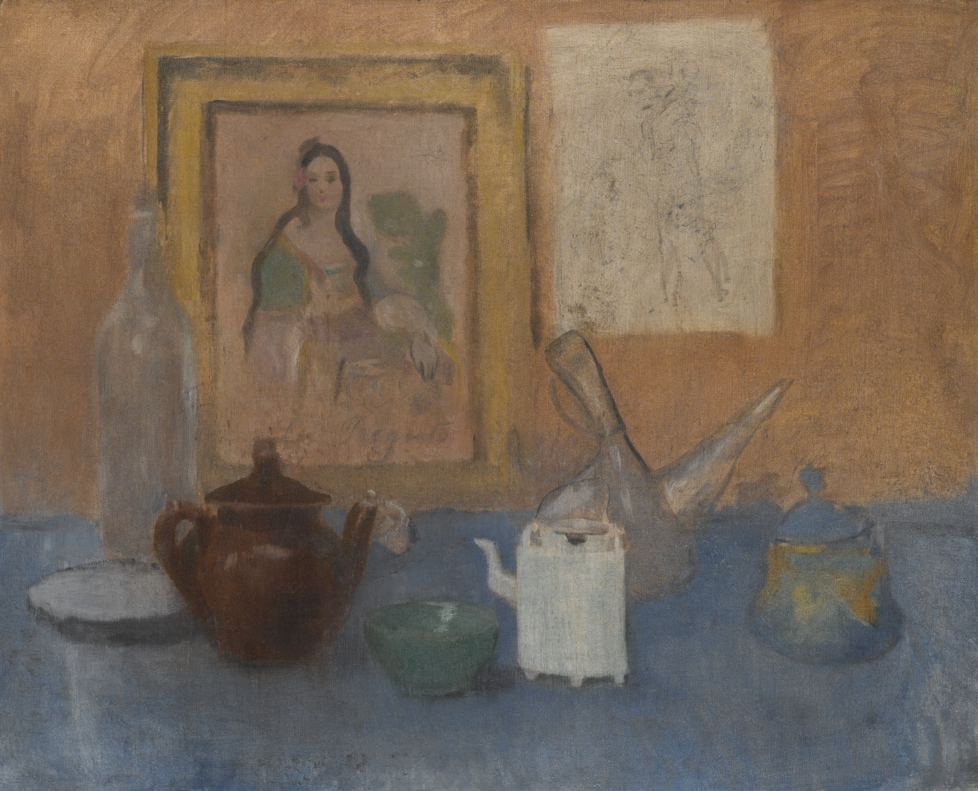 Pablo Picasso - NATURE MORTE AU TABLEAU
